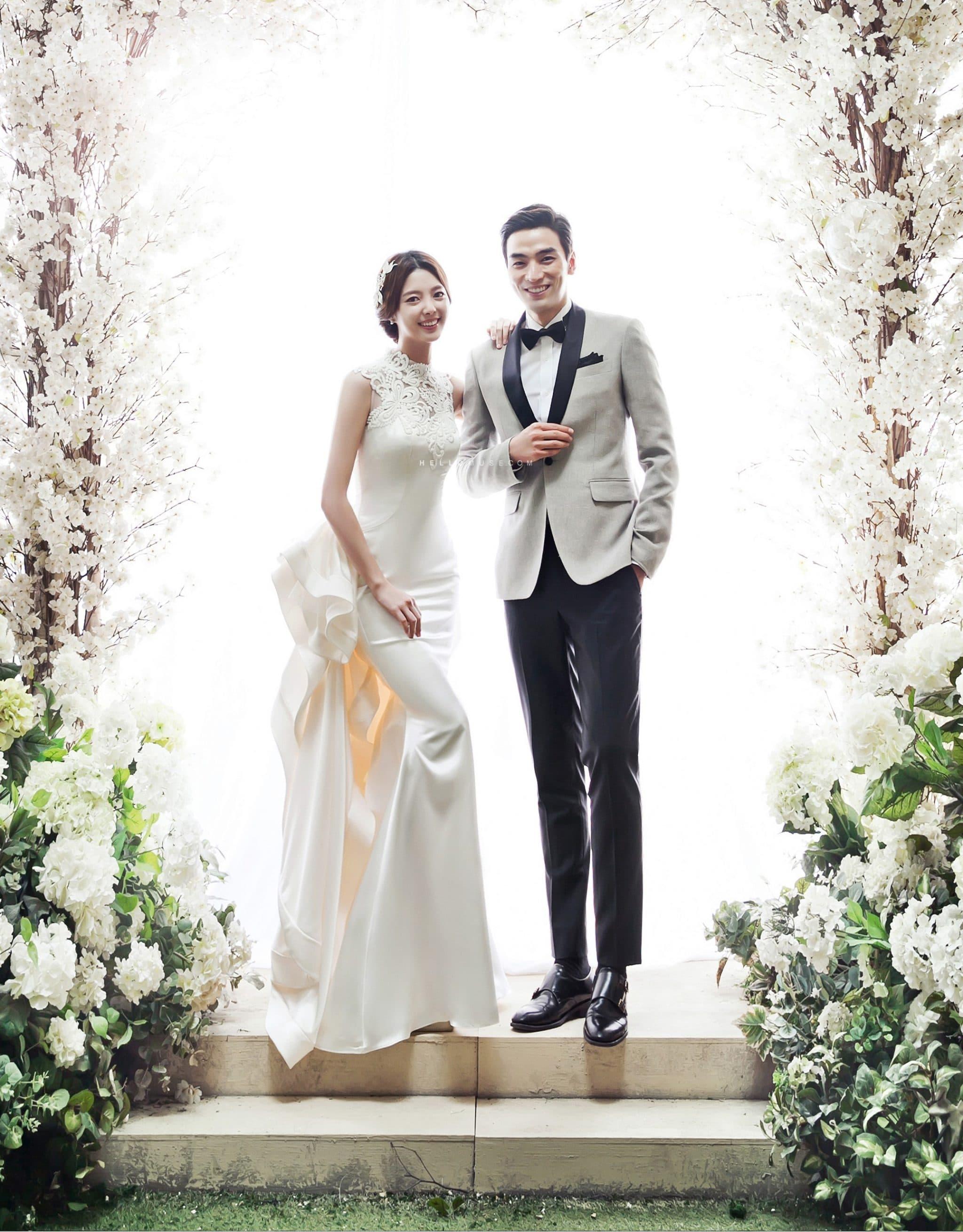 Những ý tưởng chụp ảnh cưới mới lạ
