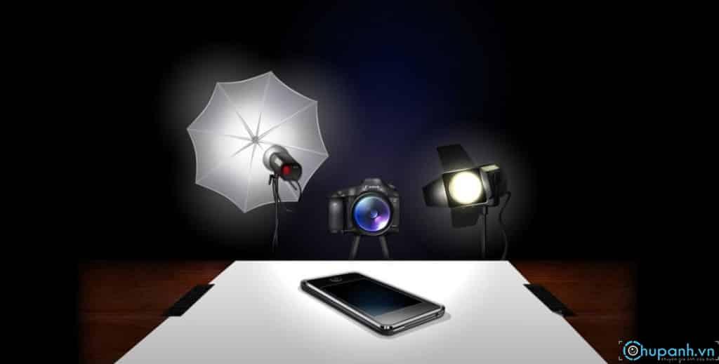 những cách cài đặt máy ảnh chụp ảnh sản phẩm