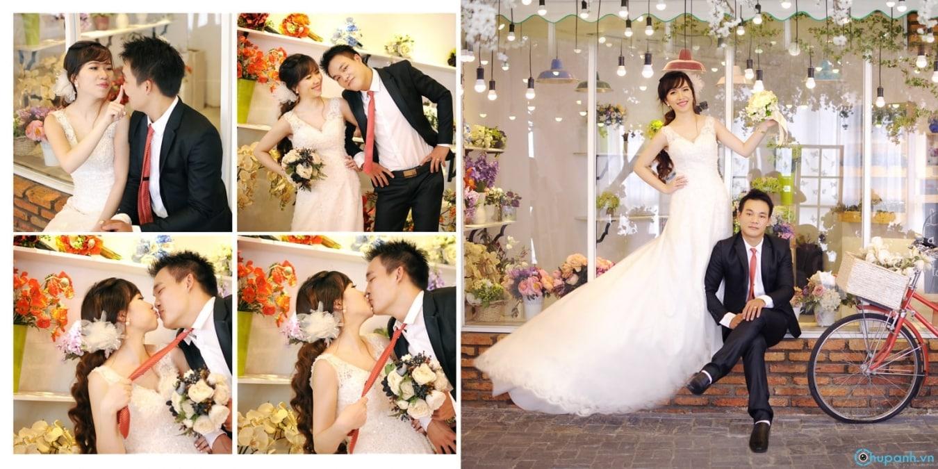 Những ý tưởng chụp ảnh cưới ấn tượng