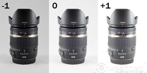 Lựa chọn bố trí máy ảnh khi chụp