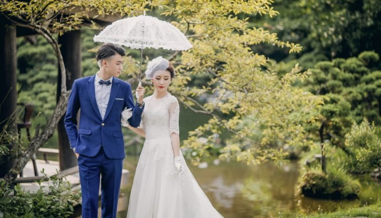 Trang phục không thể thiếu khi chụp ảnh cưới ngoại cảnh