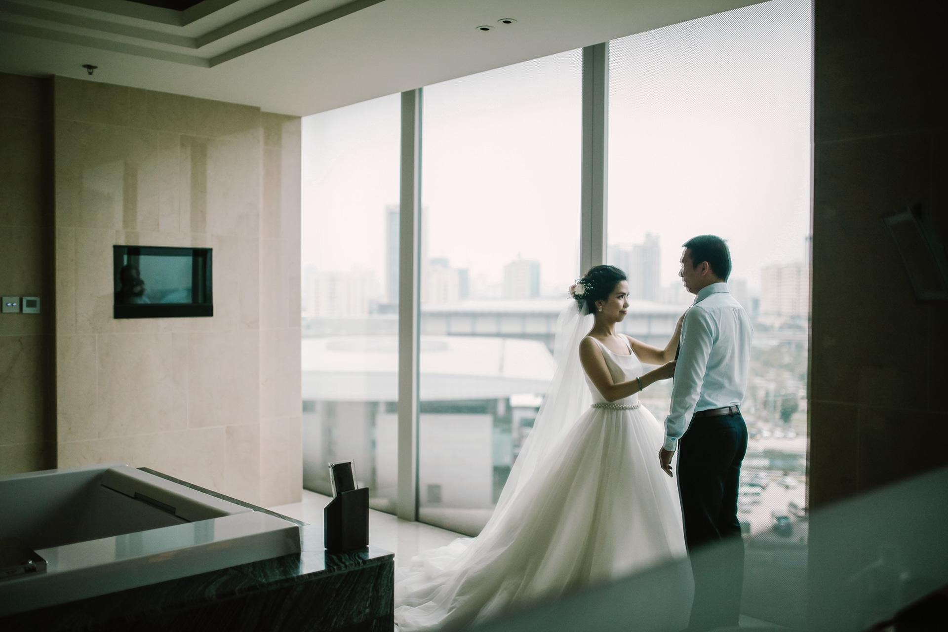 Ảnh phóng sự cưới ghi lại những khoảnh khắc trước buổi lễ