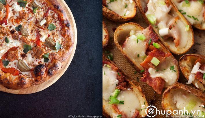 pizza potato skins