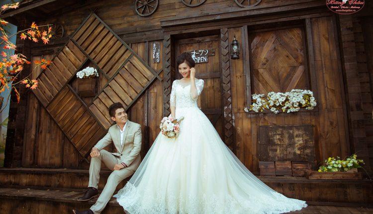 Chụp ảnh cưới phim trường giá bao nhiêu?