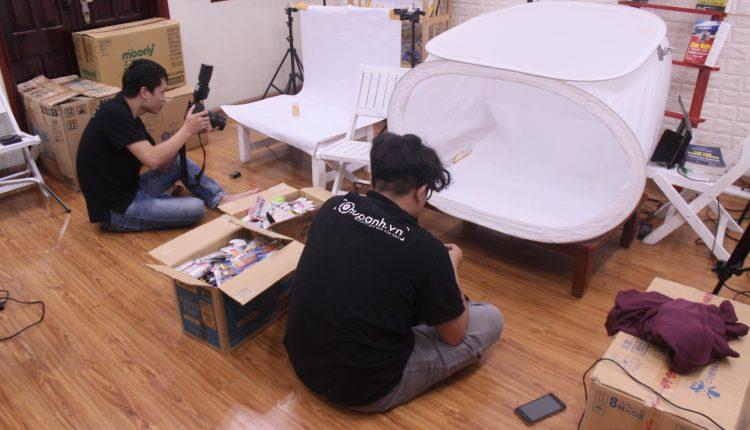 Dự án chụp 6000 sản phẩm cho Siêu thị Letee Hoàng Ngân – Hà Nội