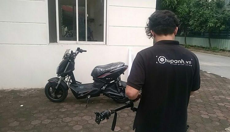 Chụp ảnh sản phẩm xe máy điện