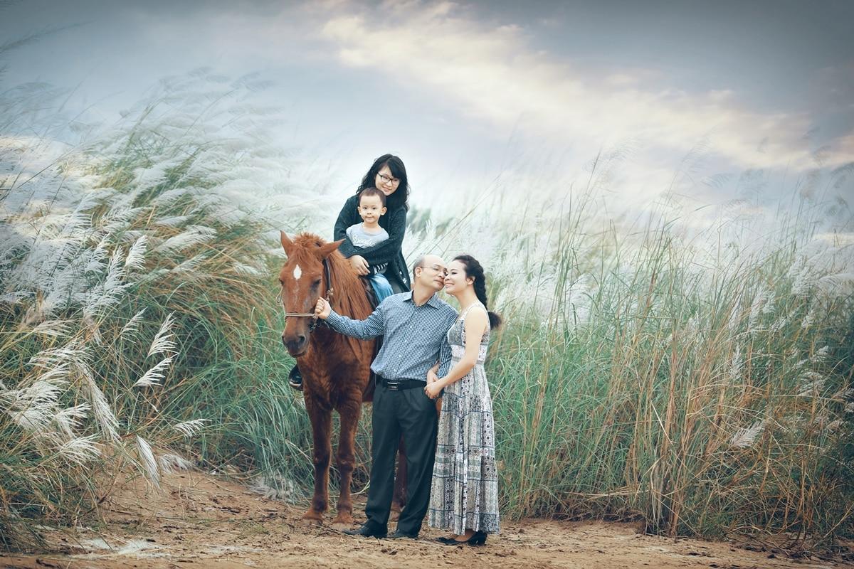 Concept chụp ảnh dã ngoại gia đình độc đáo DN004
