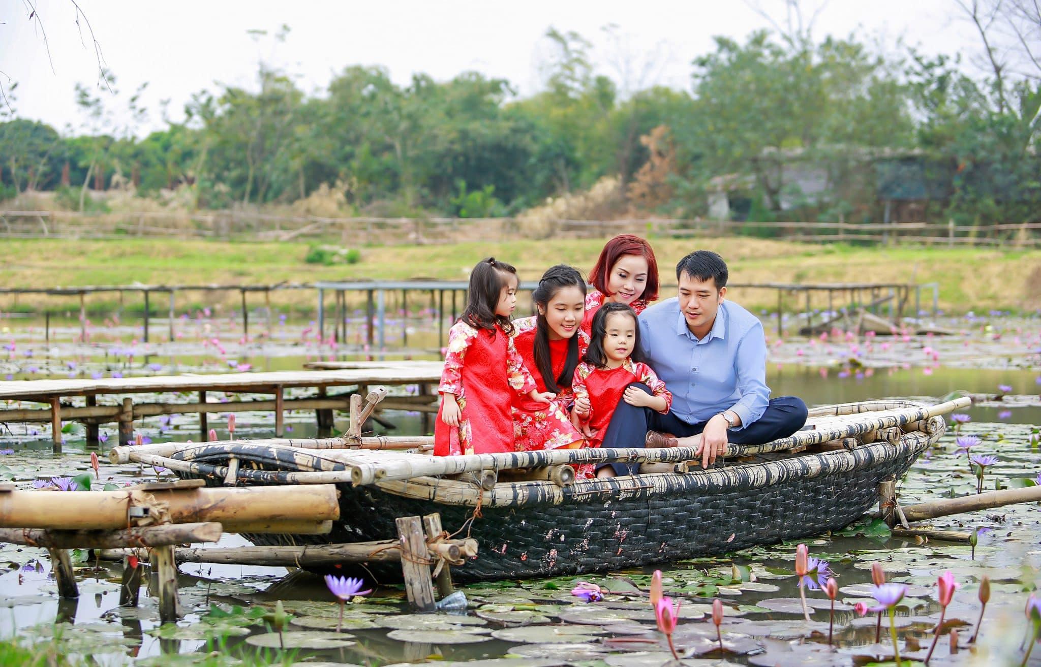 Concept chụp ảnh dã ngoại gia đình độc đáo DN010