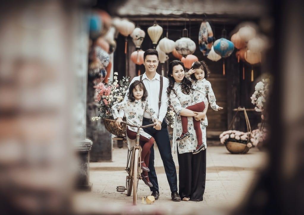 Concept chụp ảnh dã ngoại gia đình độc đáo DN012