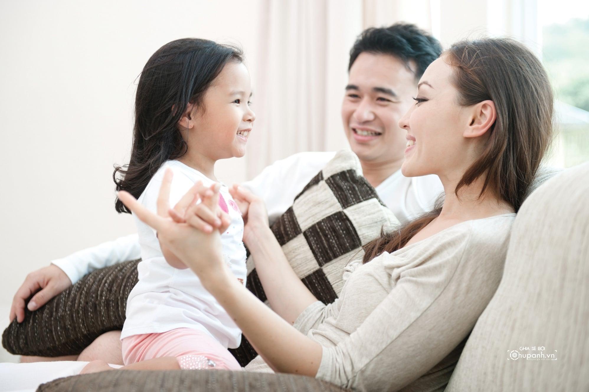 Concept chụp ảnh gia đình tại nhà GĐ007