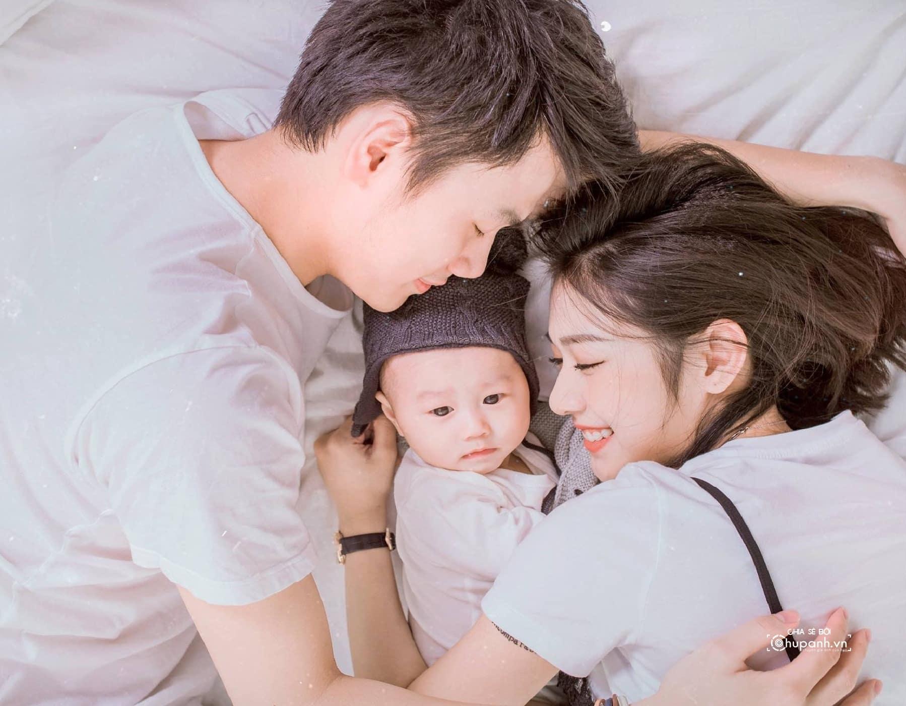 Concept chụp ảnh gia đình tại studio GĐ010 2