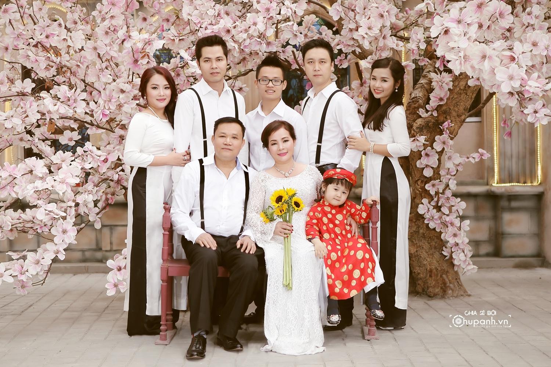 Concept chụp ảnh gia đình theo phong cách ảnh cưới GĐ007