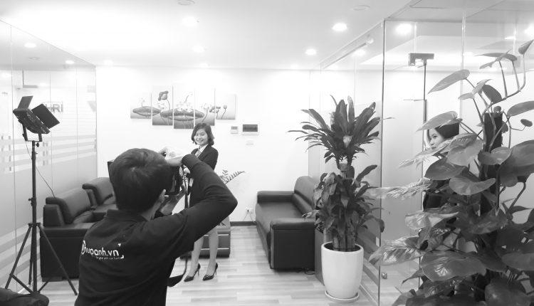 Chụp ảnh nhân sự công ty tư vấn du học