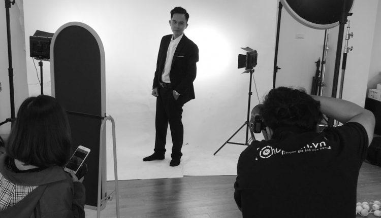 Chụp ảnh profile tại studio Chupanh.vn