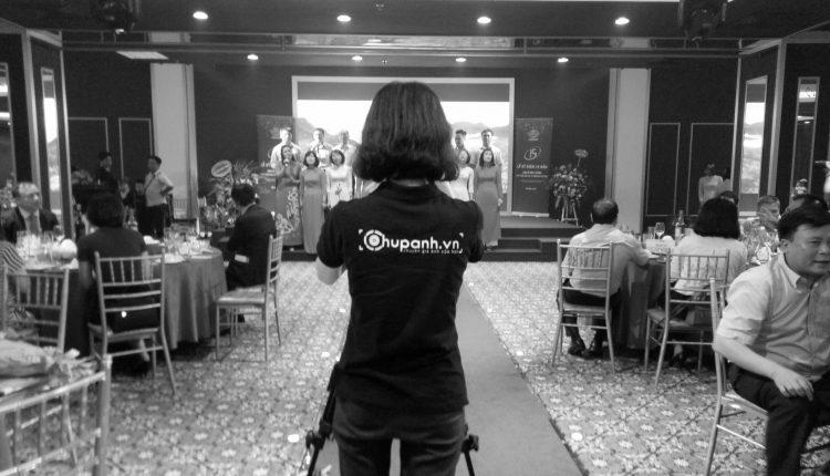 Chụp ảnh sự kiện kỉ niệm thành lập công ty Vinamex