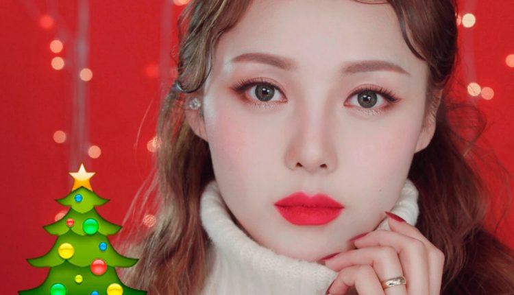 Trang điểm chụp ảnh Beauty ngọt ngào cho ngày Giáng sinh