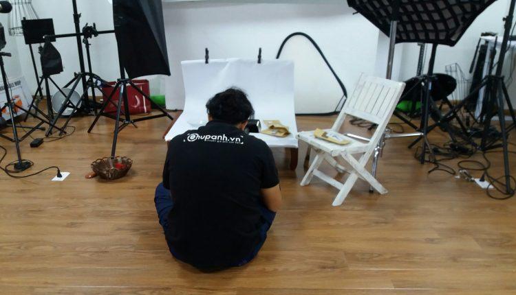 Chụp ảnh sản phẩm thảo mộc xông phong thủy