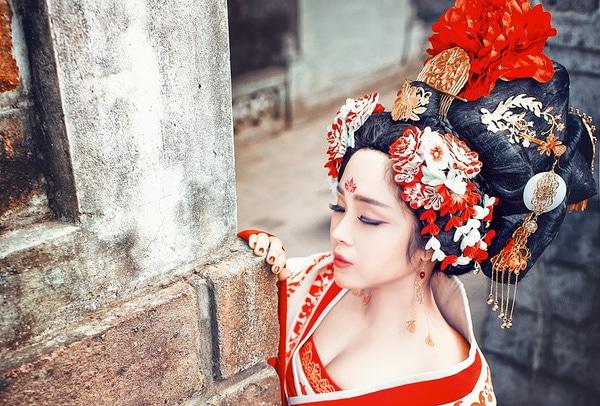 Chụp ảnh cổ trang Trung Quốc cực đẹp