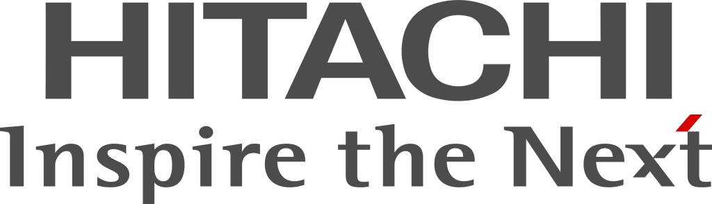 Hitachi logo slogan